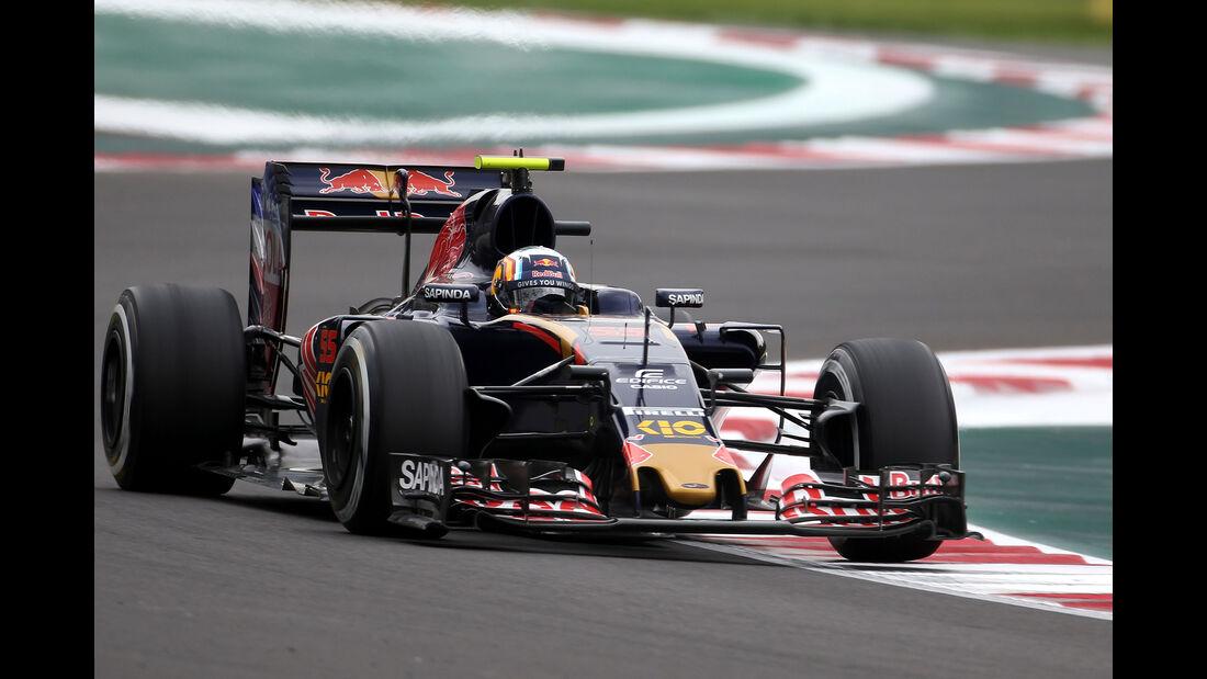 Carlos Sainz - Toro Rosso - Formel 1 - GP Mexiko - 28. Oktober 2016