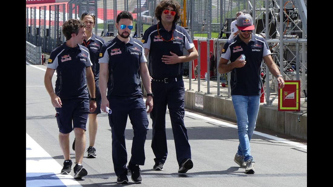 Carlos Sainz - Toro Rosso - Formel 1 - GP Österreich -  30. Juni 2016