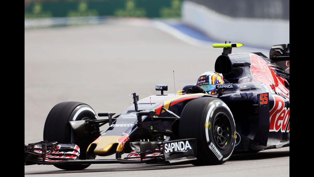 Carlos Sainz - Toro Rosso - Formel 1 - GP Russland - 29. April 2016