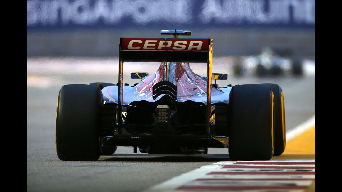 Carlos Sainz - Toro Rosso - Formel 1 - GP Singapur - 20. September 2015