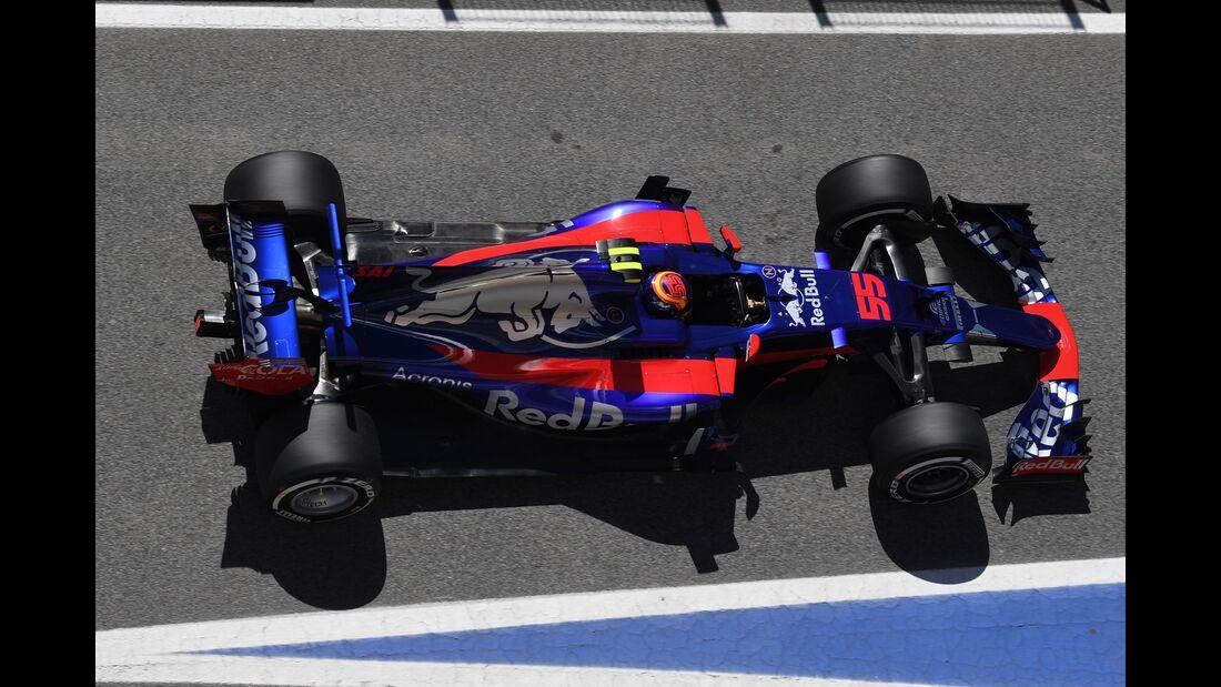 Carlos Sainz - Toro Rosso - Formel 1 - GP Spanien - 12. Mai 2017