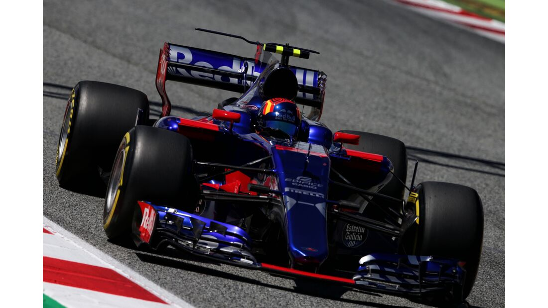 Carlos Sainz - Toro Rosso - Formel 1 - GP Spanien - 13. Mai 2017