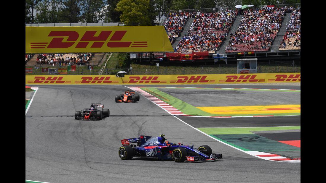 Carlos Sainz - Toro Rosso - Formel 1 - GP Spanien - 14. Mai 2017