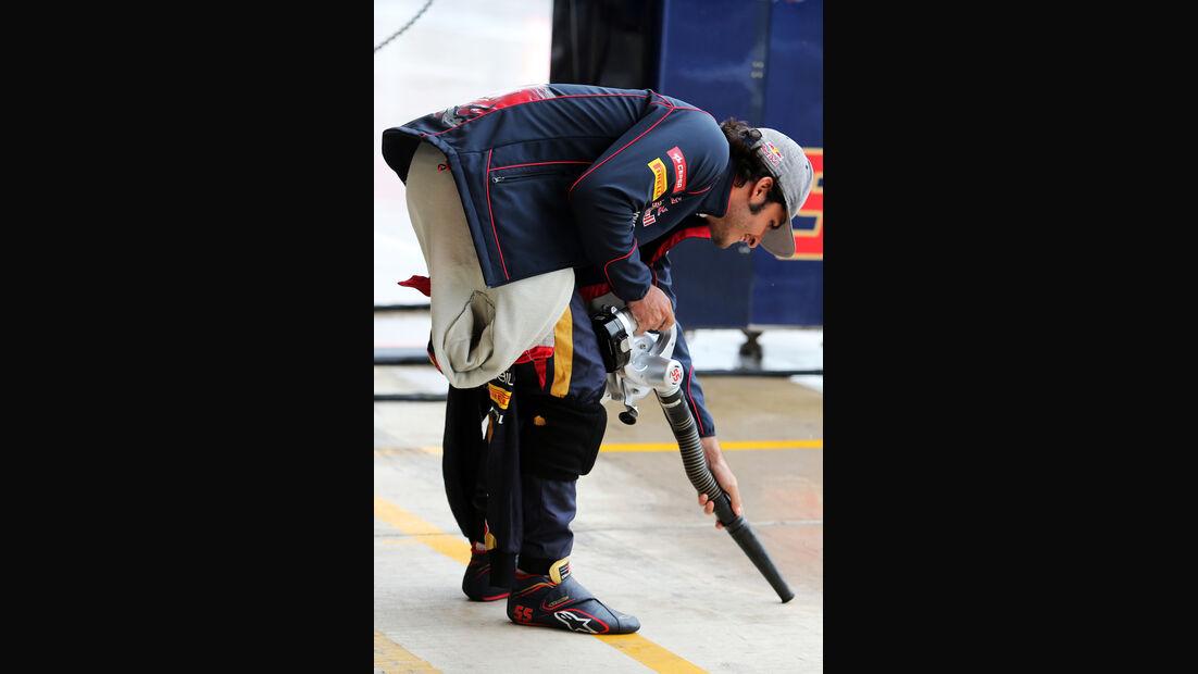 Carlos Sainz - Toro Rosso - Formel 1 - GP USA - Austin - Formel 1 - 24. Oktober 2015
