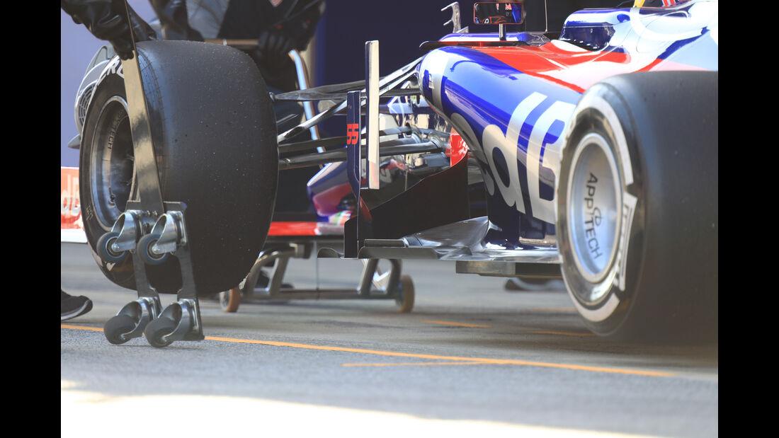 Carlos Sainz - Toro Rosso - Formel 1 - Test - Barcelona - 1. März 2017