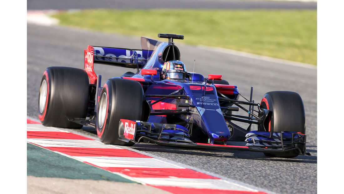 Carlos Sainz - Toro Rosso - Formel 1 - Test - Barcelona - 10. März 2017