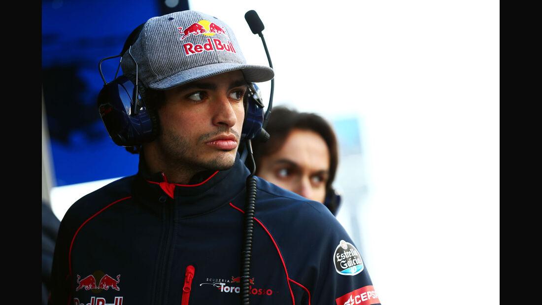Carlos Sainz - Toro Rosso - Formel 1-Test - Barcelona - 19. Februar 2015