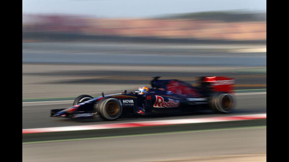 Carlos Sainz - Toro Rosso - Formel 1-Test - Barcelona - 20. Februar 2015