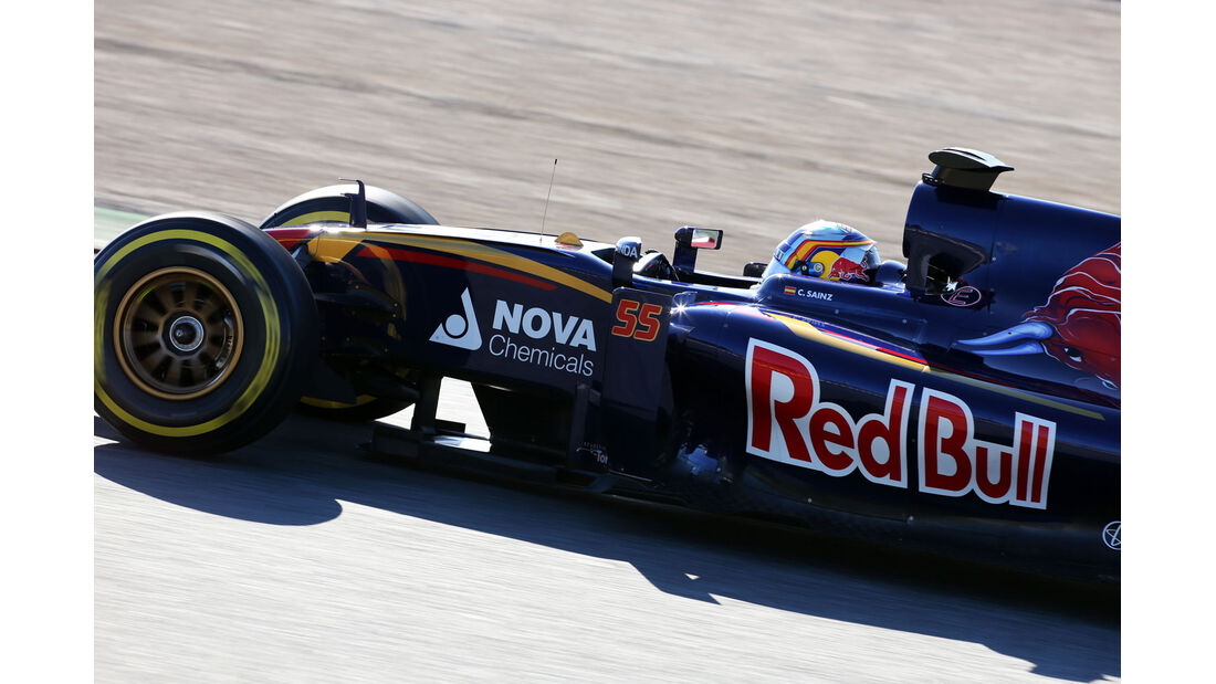 Carlos Sainz - Toro Rosso - Formel 1-Test - Barcelona - 28. Februar 2015