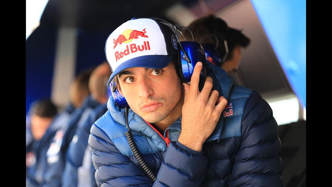 Carlos Sainz - Toro Rosso - Formel 1 - Test - Barcelona - 7. März 2017