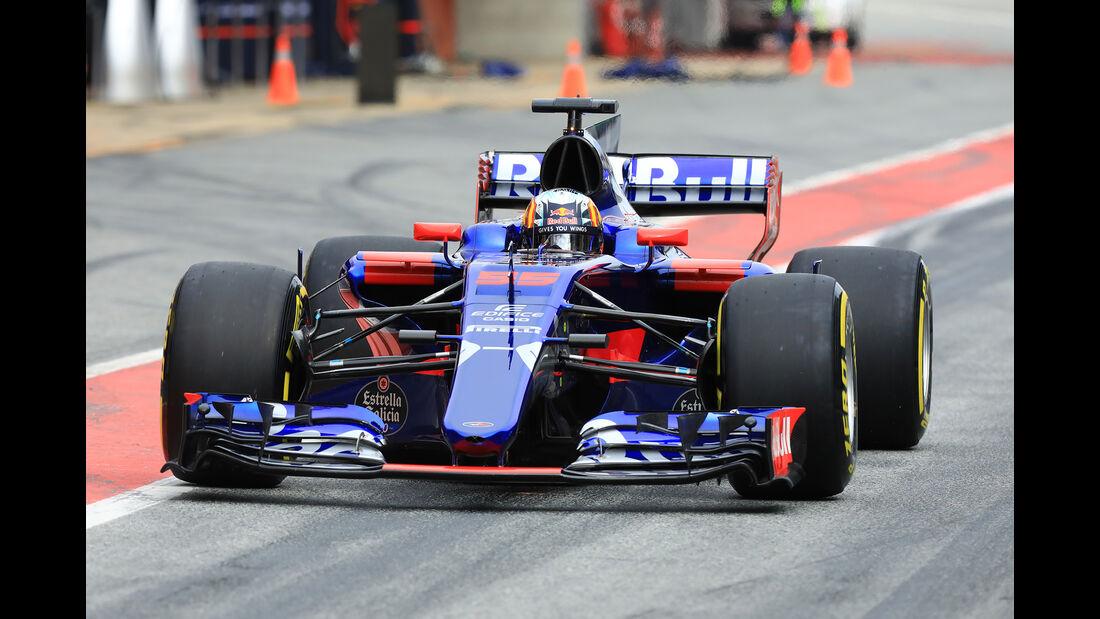 Carlos Sainz - Toro Rosso - Formel 1 - Test - Barcelona - 8. März 2017