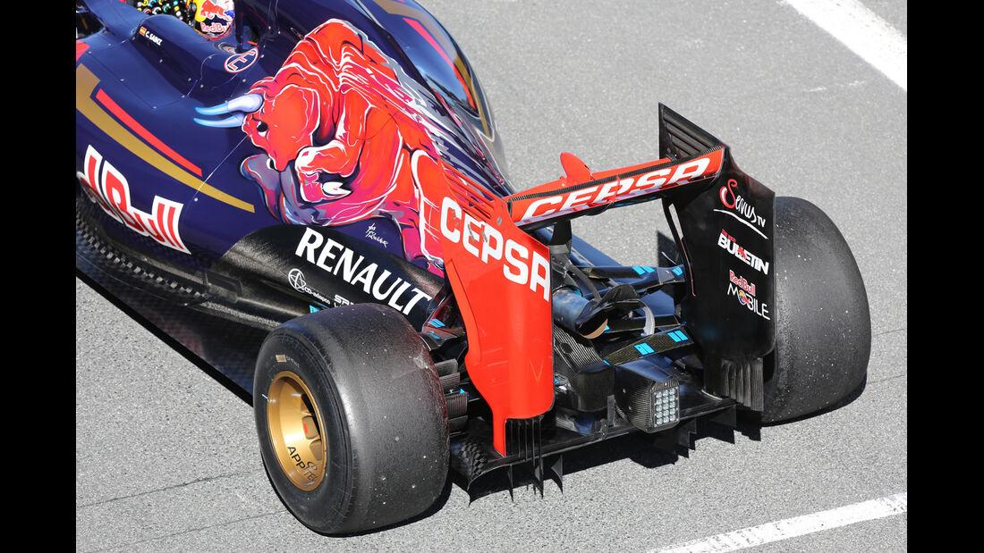 Carlos Sainz - Toro Rosso - Formel 1-Test Jerez - 1. Febraur 2015