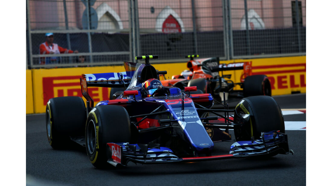 Carlos Sainz - Toro Rosso - GP Aserbaidschan 2017 - Baku