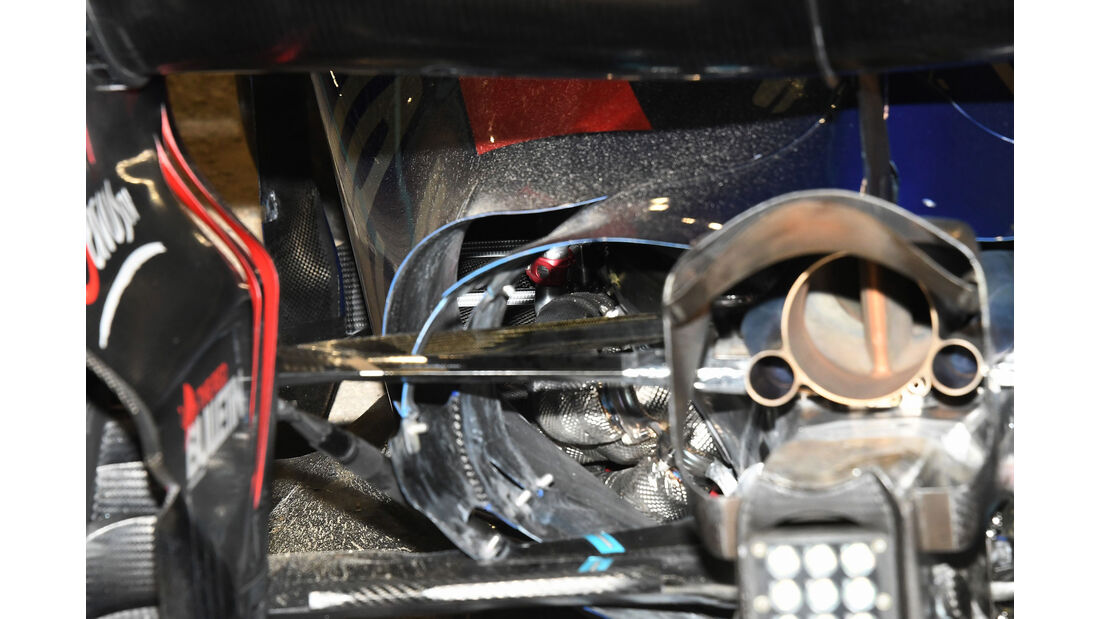 Carlos Sainz - Toro Rosso - GP Bahrain 2017 - Rennen
