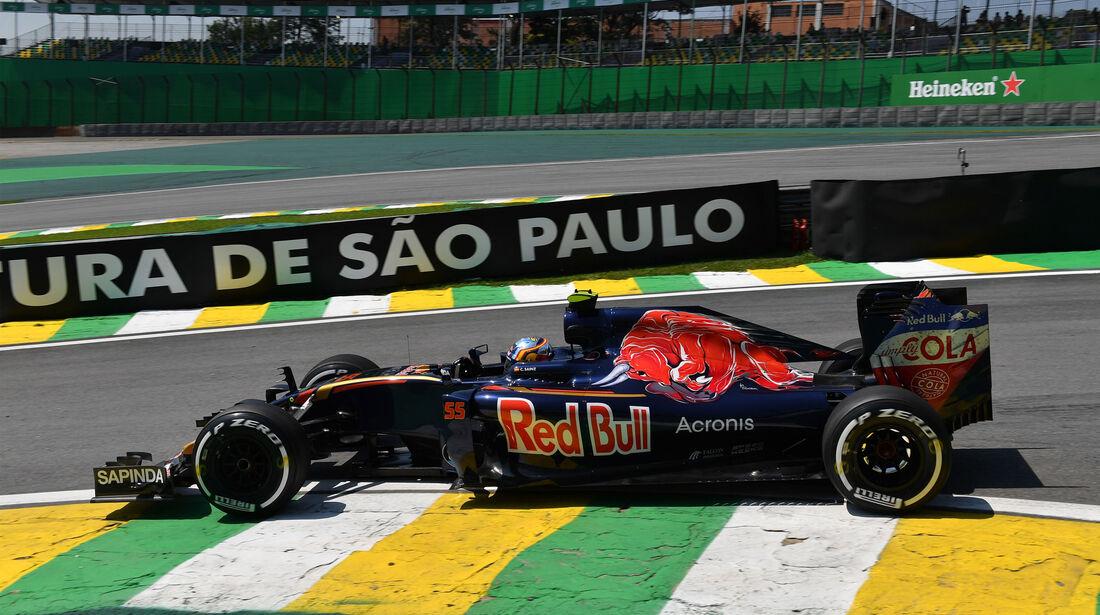 Carlos Sainz - Toro Rosso - GP Brasilien - Interlagos - Freitag - 11.11.2016