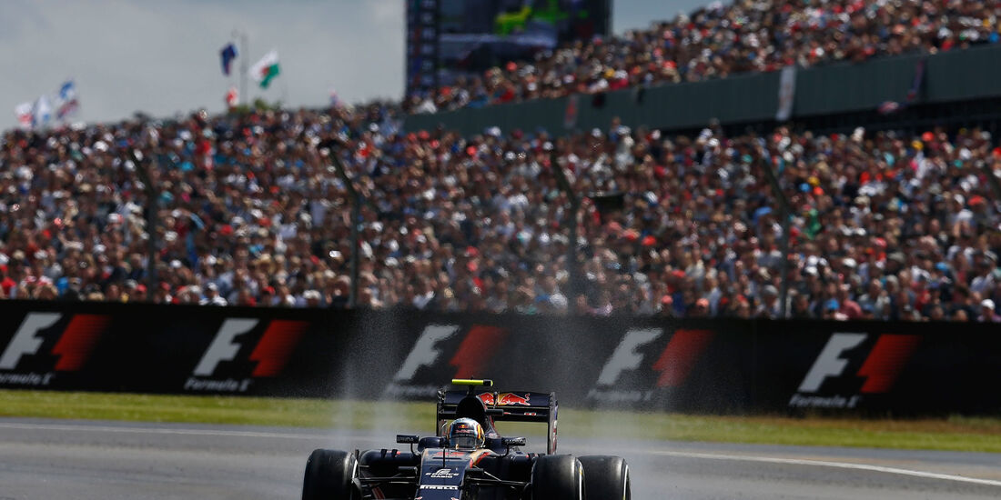 Carlos Sainz - Toro Rosso - GP England 2016 - Silverstone - Rennen