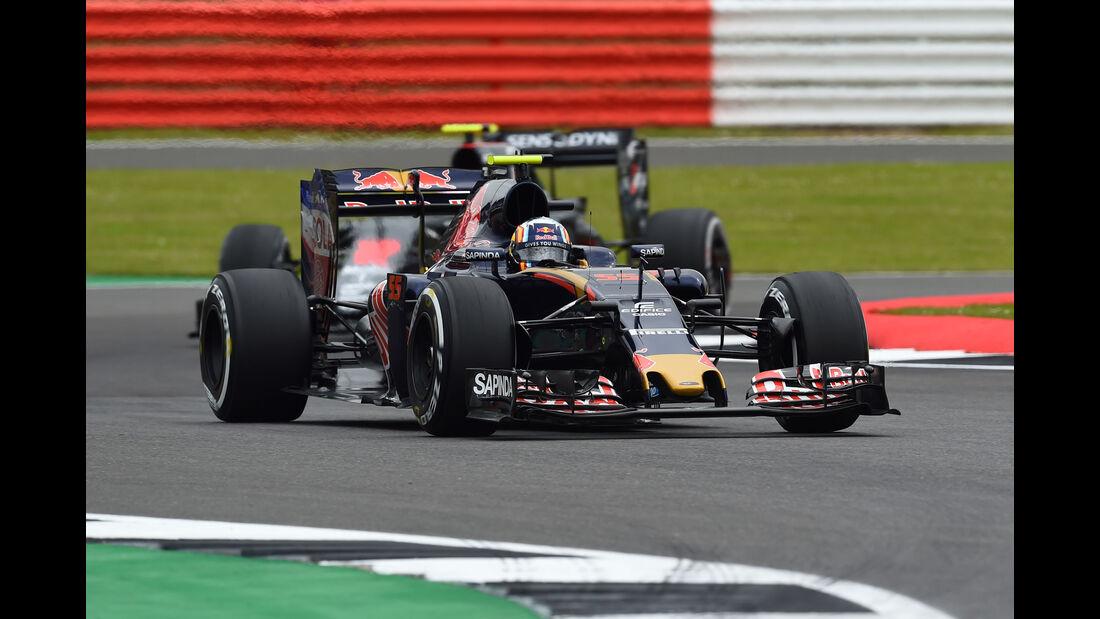 Carlos Sainz - Toro Rosso -  GP England - Silverstone - Formel 1 - Freitag - 8.7.2016