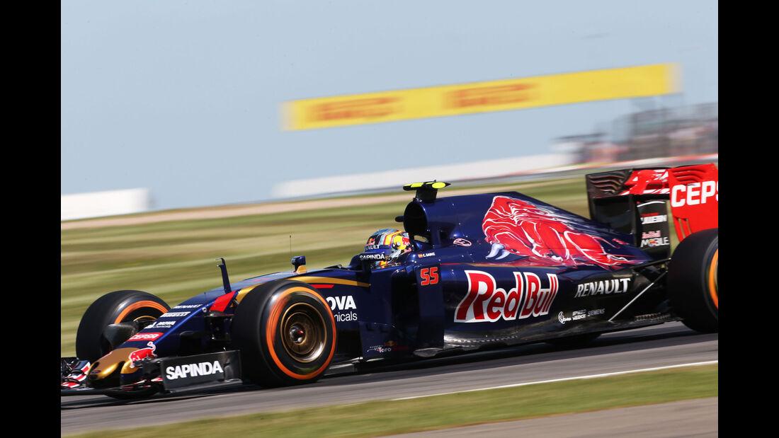 Carlos Sainz - Toro Rosso - GP England - Silverstone - Freitag - 3.7.2015