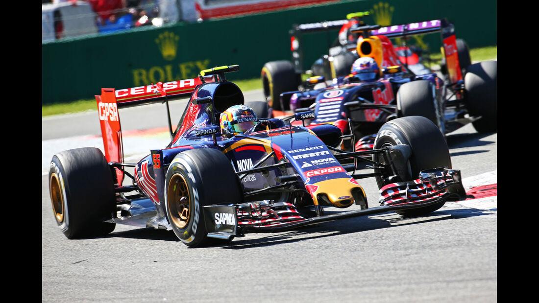 Carlos Sainz - Toro Rosso - GP Italien 2015 - Monza