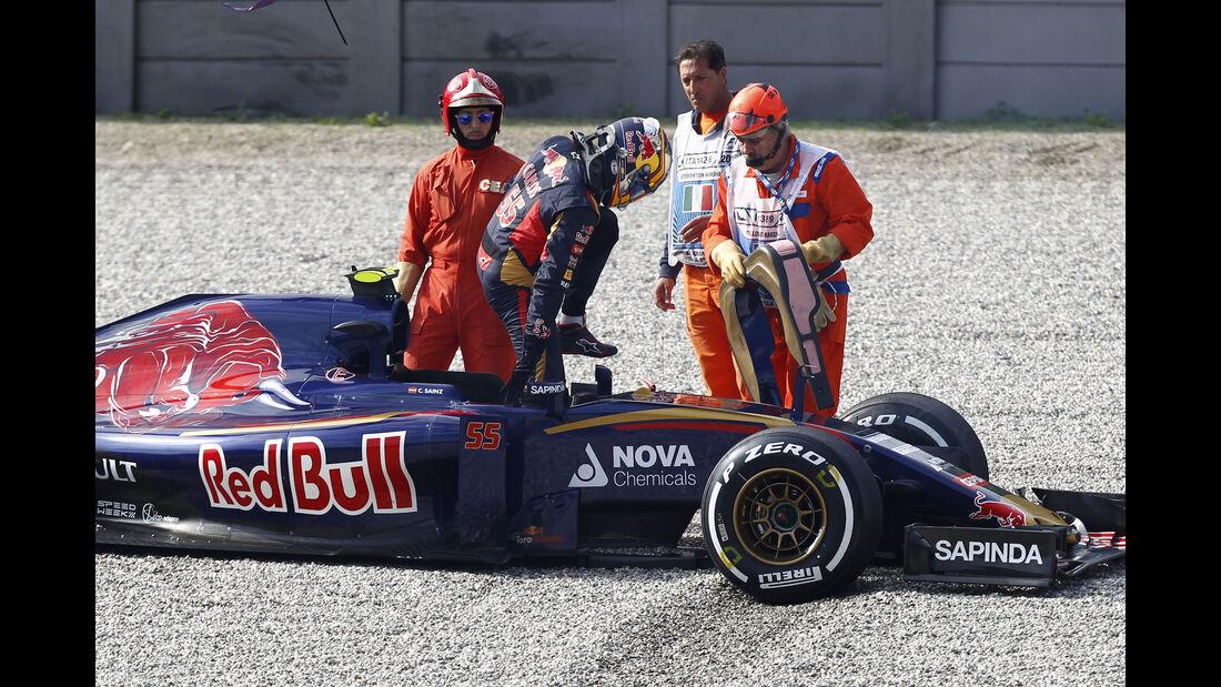 Carlos Sainz - Toro Rosso - GP Italien - Monza - Freitag - 4.9.2015