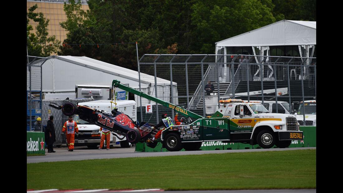 Carlos Sainz - Toro Rosso - GP Kanada 2016 - Montreal - Qualifying