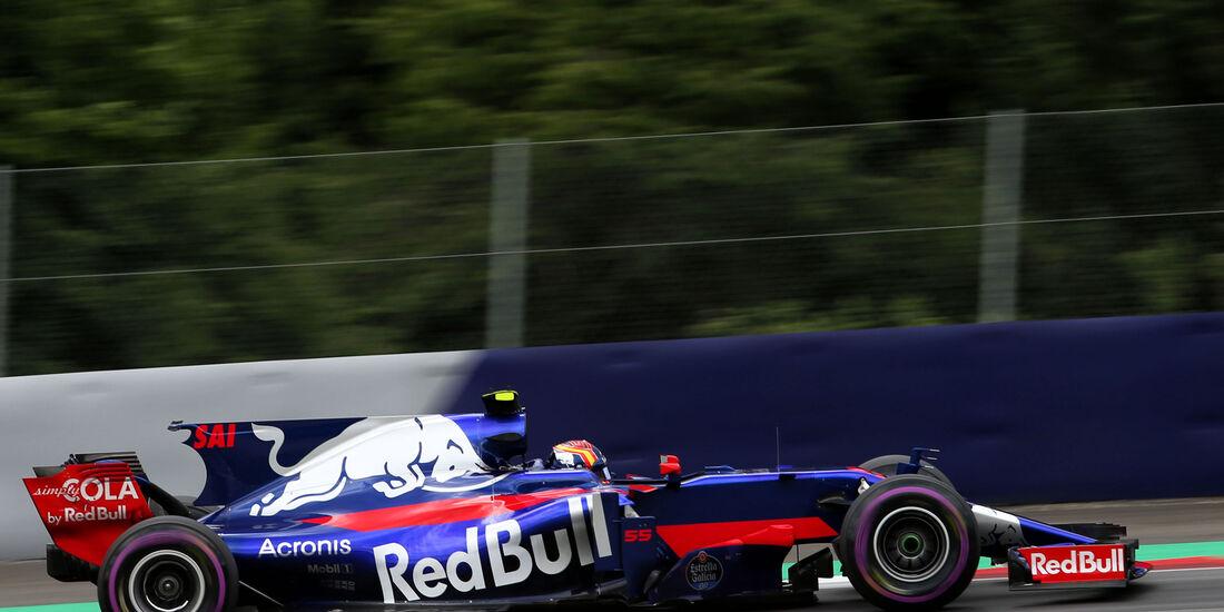 Carlos Sainz - Toro Rosso - GP Österreich 2017 - Spielberg - Qualifying