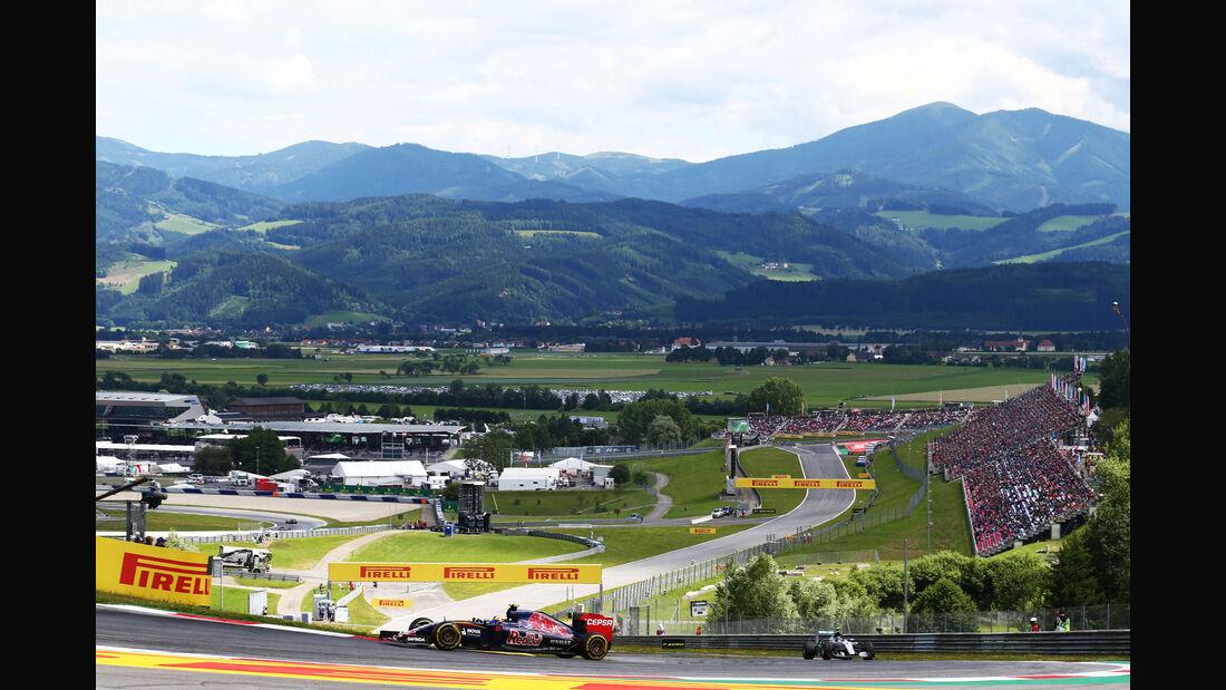 Carlos Sainz - Toro Rosso - GP Österreich - Formel 1 - Sonntag - 21.6.2015
