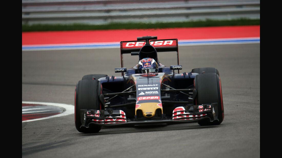 Carlos Sainz - Toro Rosso - GP Russland 2015 - Sochi - Rennen