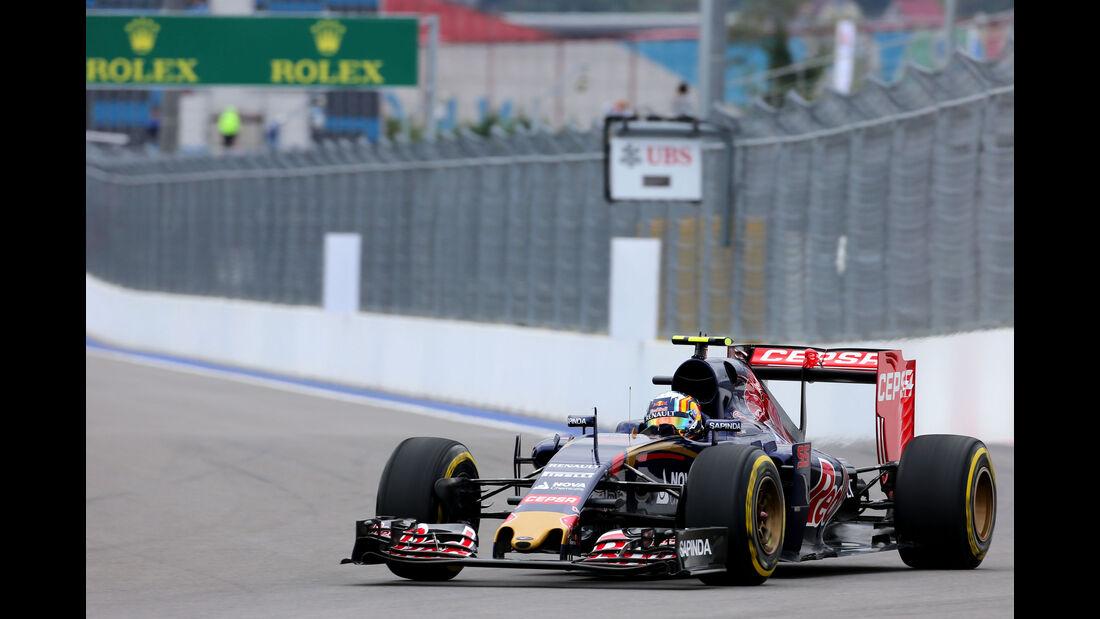 Carlos Sainz - Toro Rosso - GP Russland - Sochi - Freitag - 9.10.2015