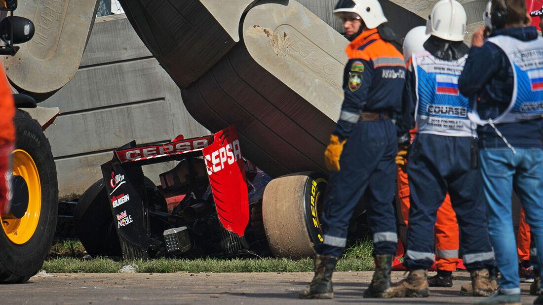 Carlos Sainz - Toro Rosso - GP Russland - Sochi - Samstag - 10.10.2015