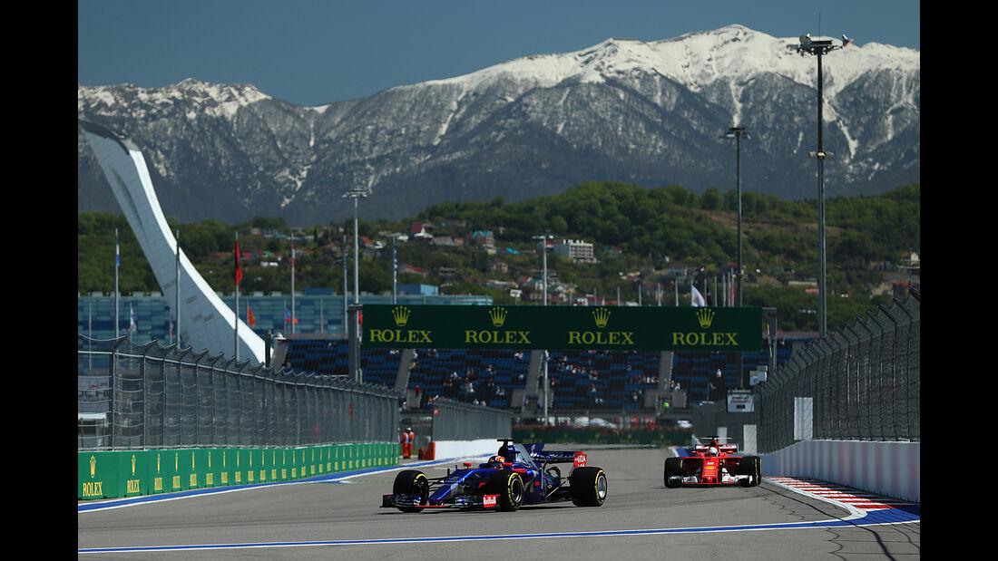 Carlos Sainz - Toro Rosso - GP Russland - Sotschi  - Formel 1 - 28. April 2017