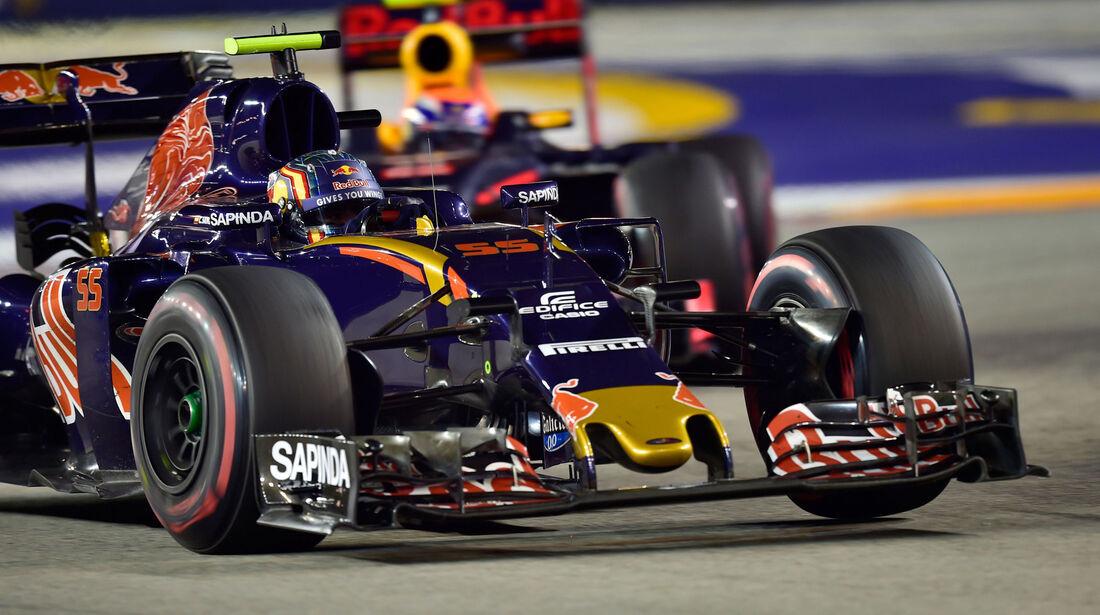 Carlos Sainz - Toro Rosso - GP Singapur 2016