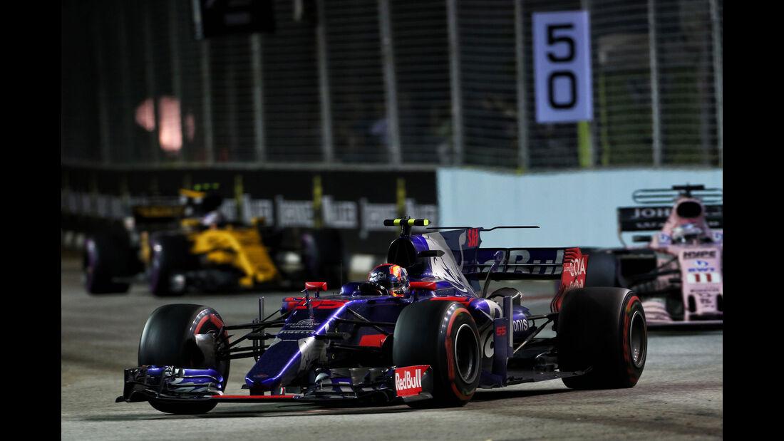 Carlos Sainz - Toro Rosso - GP Singapur 2017 - Rennen