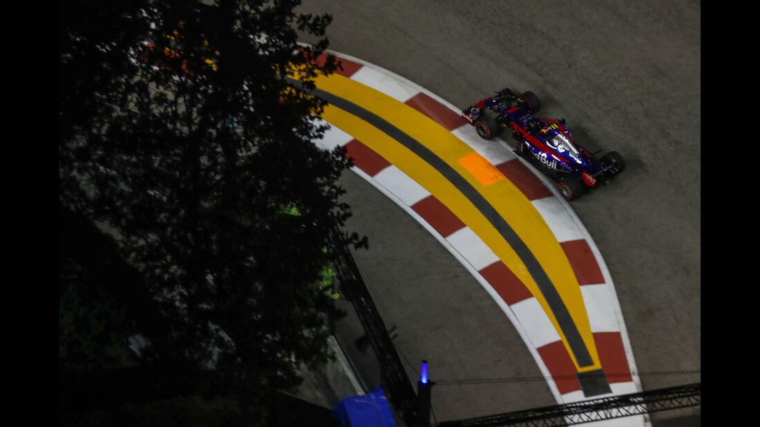 Carlos Sainz - Toro Rosso - GP Singapur - Formel 1 - Freitag - 15.9.2017