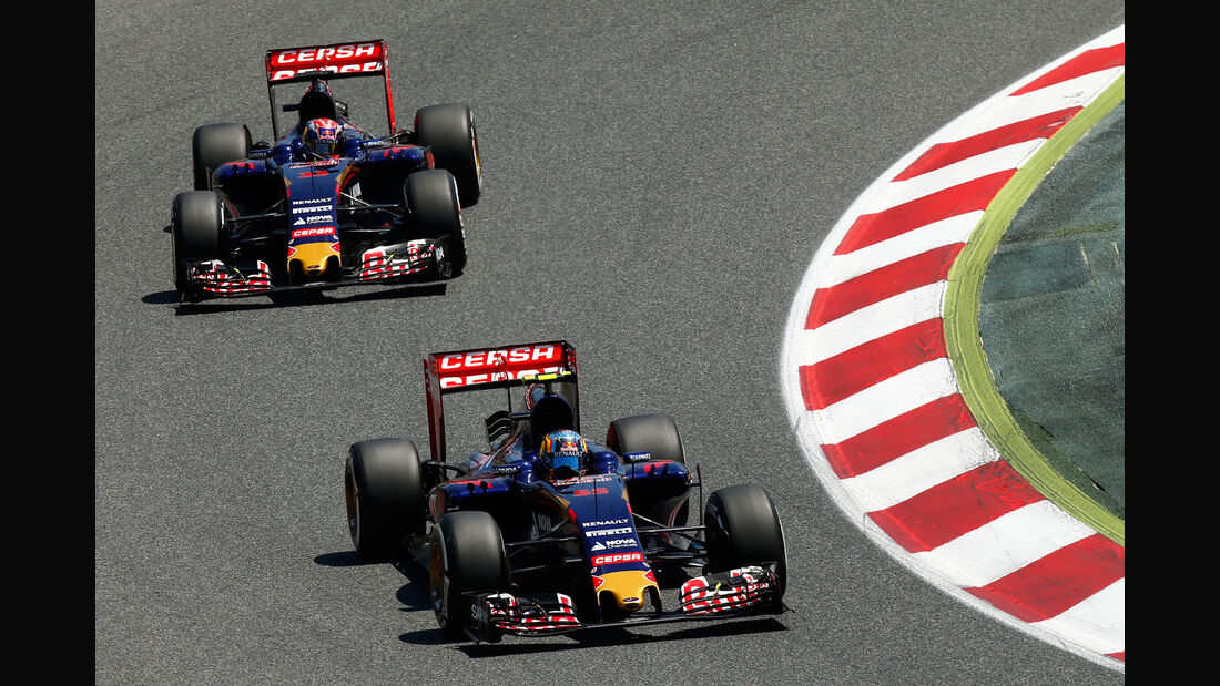 Carlos Sainz - Toro Rosso - GP Spanien 2015 - Rennen - Sonntag - 10.5.2015