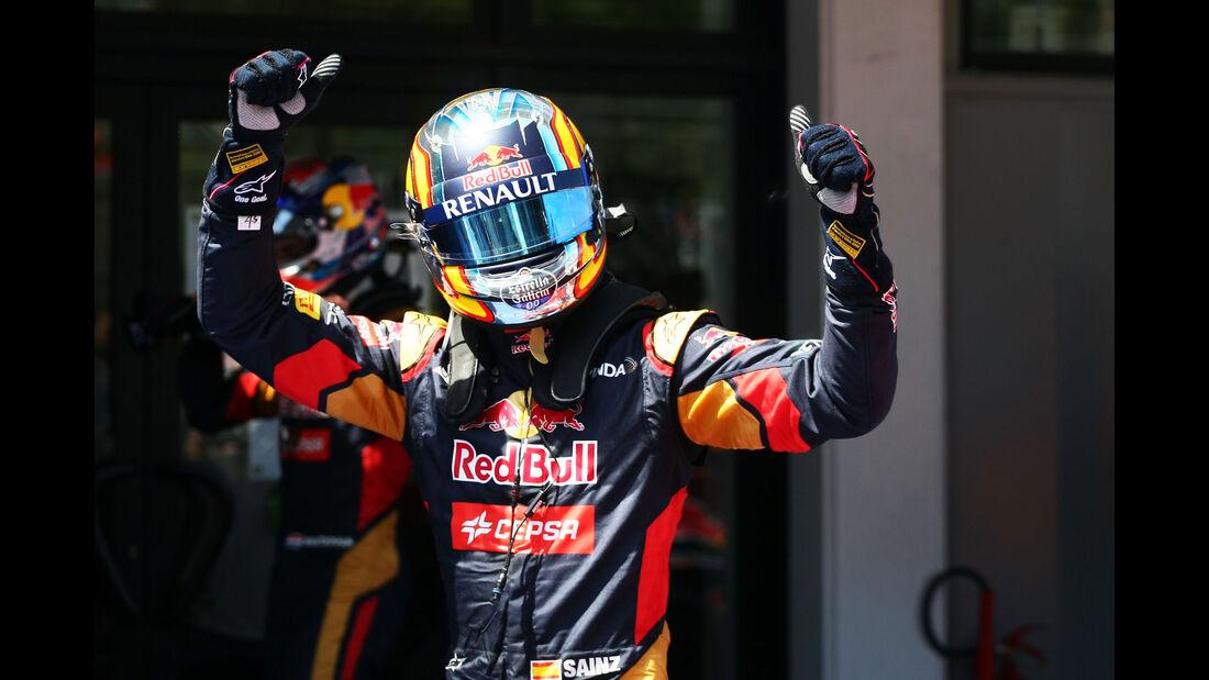 Carlos Sainz - Toro Rosso - GP Spanien - Qualifying - Samstag - 9.5.2015