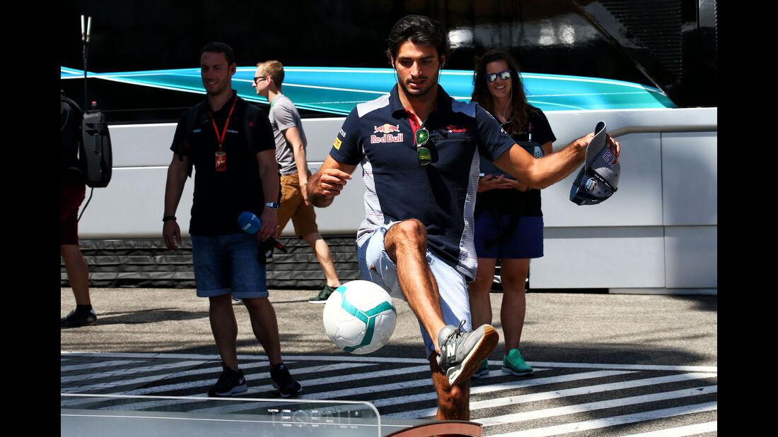 Carlos Sainz - Toro Rosso - GP Ungarn 2017
