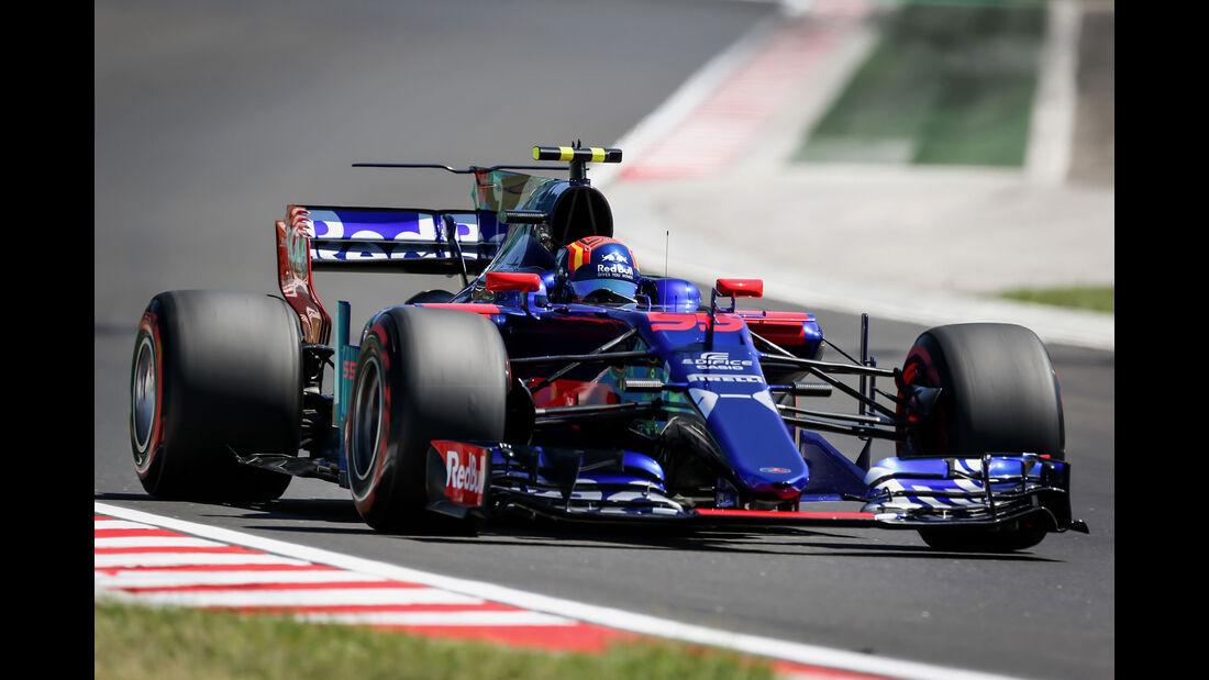 Carlos Sainz - Toro Rosso - GP Ungarn 2017 - Budapest - Qualifying
