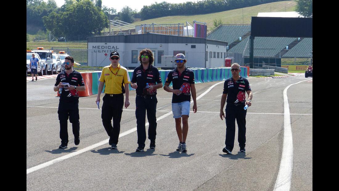 Carlos Sainz - Toro Rosso - GP Ungarn - Budapest - Donnerstag - 23.7.2015