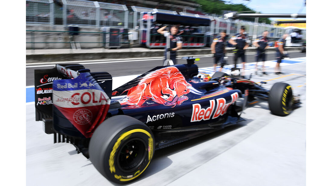 Carlos Sainz - Toro Rosso - GP Ungarn - Budapest - Formel 1 - 22. Juli 2016