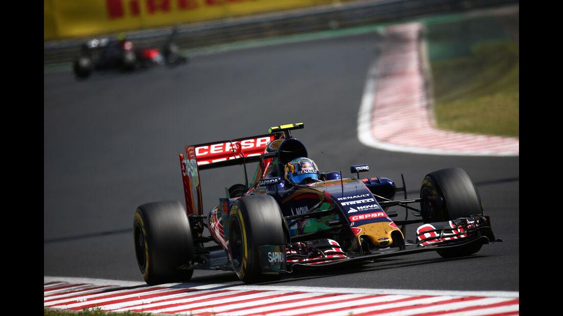 Carlos Sainz - Toro Rosso - GP Ungarn - Budapest - Rennen - Sonntag - 26.7.2015