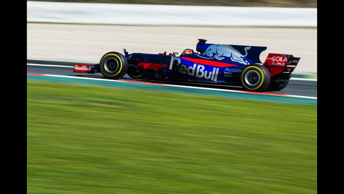 Carlos Sainz - Toro Rosso - Testfahrten - Barcelona - Freitag - 10.3.2017