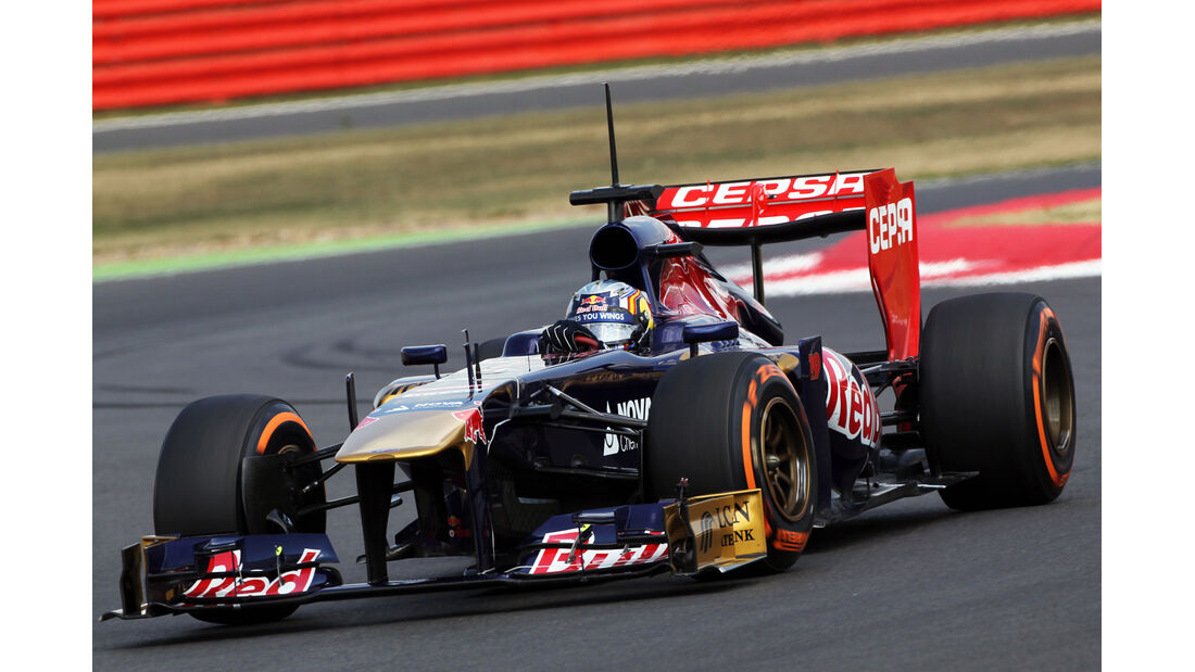 Carlos Sainz - Toro Rosso - Young Driver Test - Silverstone - 18. Juli 2013