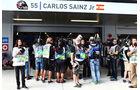 Carlos Sainz - Unfall - GP Russland 2015 - Toro Rosso