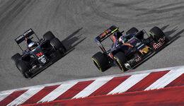 Carlos Sainz vs. Fernando Alonso - GP USA 2016