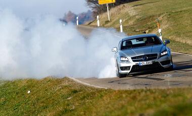 Carlsson CK63 RS, Frontansicht, Burnout