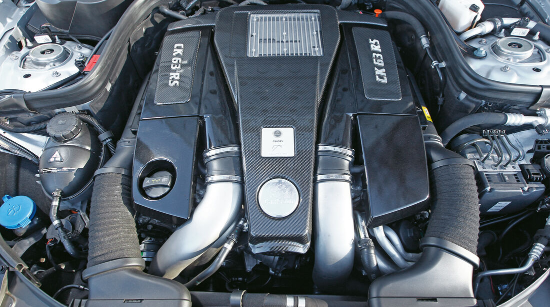 Carlsson CK63 RS, Motor