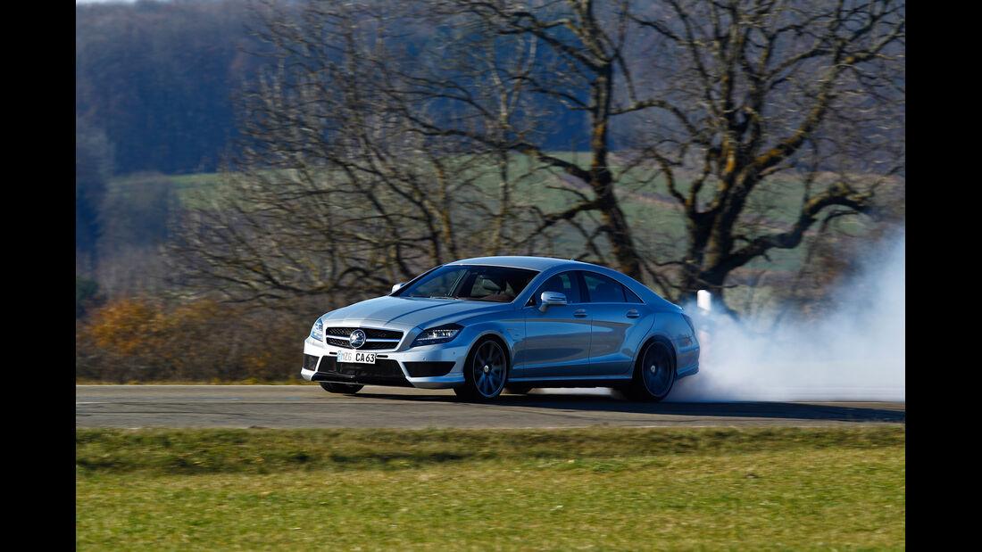 Carlsson CK63 RS, Seitenansicht, Burnout