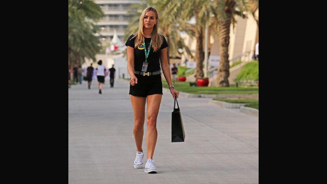 Carmen Jorda - Lotus - Formel 1 - GP Bahrain - 18. April 2015