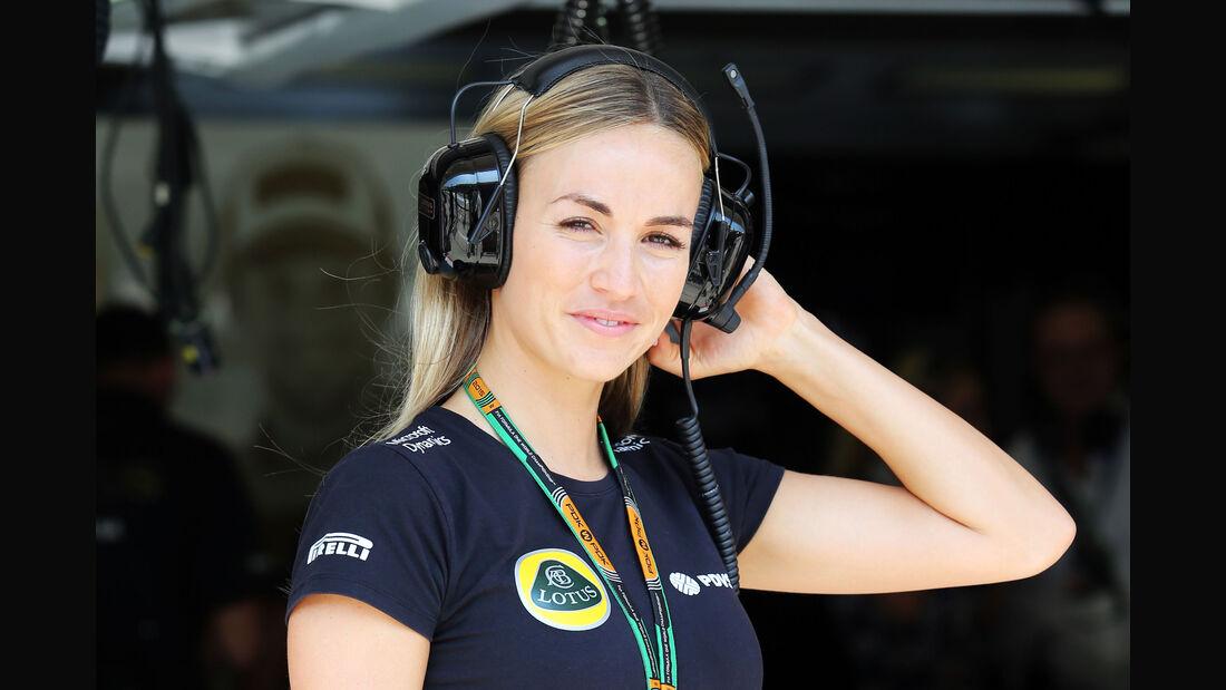Carmen Jorda - Lotus - GP Ungarn - Budapest - Freitag - 24.7.2015